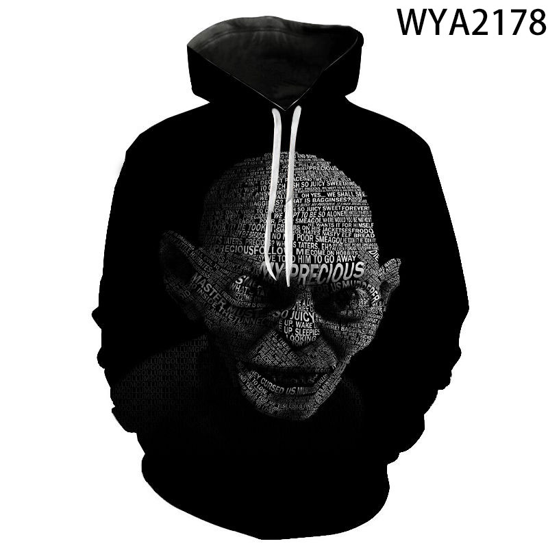 The Lord Of The Rings 3D Printed Boy Girl Kids Streetwear Casual Hoodies Sweatshirts Men Women Children Long Sleeve Fashion Coat