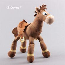 Cheval en peluche, 25 cm (Toy Story), poupée animal, pour enfants et bébés, idéal en anniversaires,
