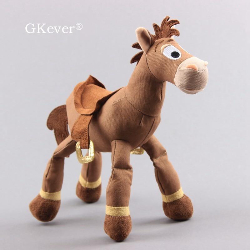 25cm Story Bullseye Horse Plush Doll Toys Stuffed Animals Horse Doll Figure Children Girl Baby Kids Birthday Gift