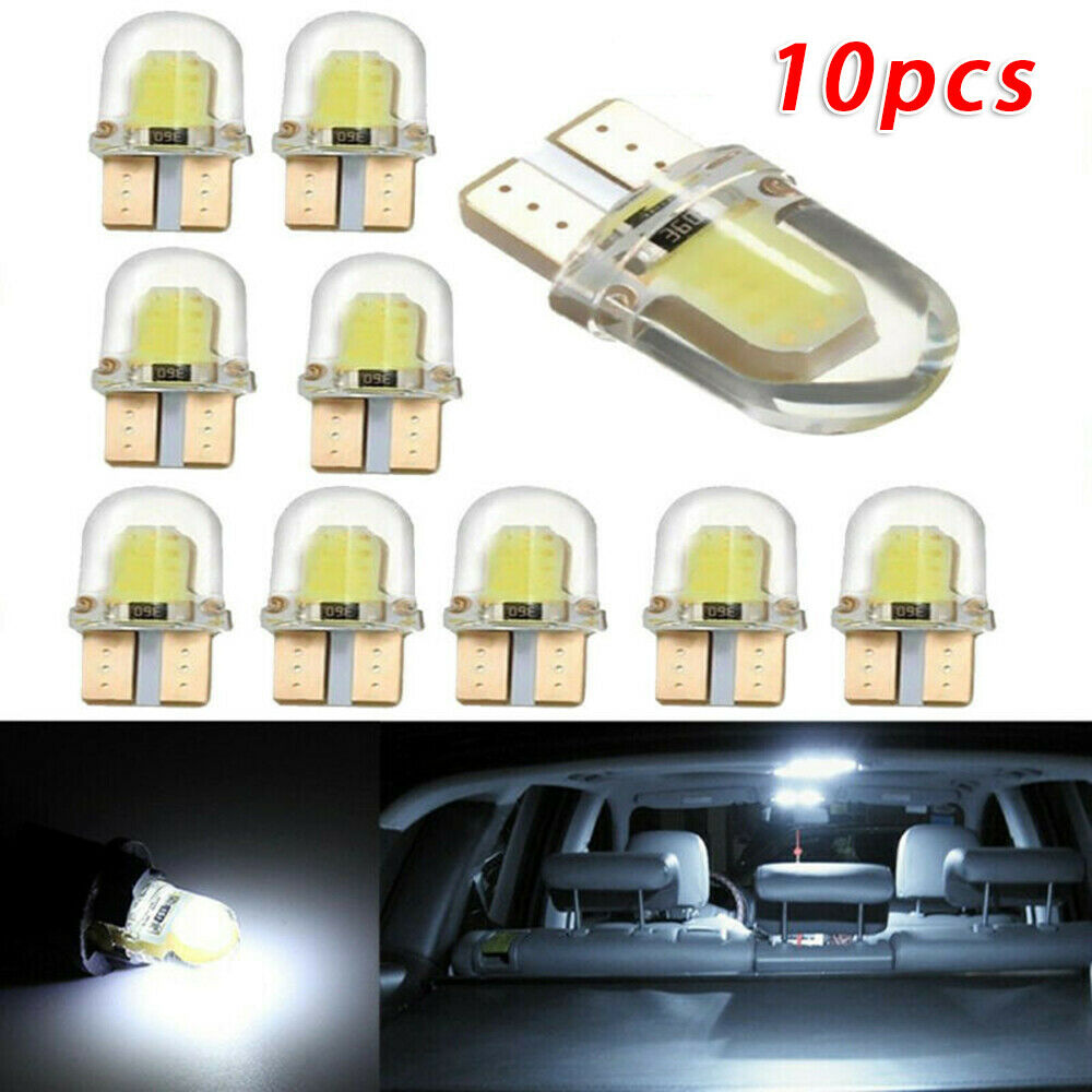 10pcs Auto SMD T10 LED Luce Della Targa Lampadina 6500K 180LM 12V di Ricambio Set| |   - AliExpress