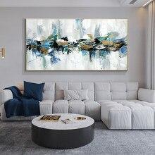 Abstrato 100% pintados à mão pintura a óleo paisagem pinturas na lona arte da parede fotos para o quarto sala de estar decoração casa