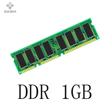 GZSM Desktop Memory DDR 1GB for PC2100 PC2700 PC3200 266MHZ 333MHZ 400MHZ Memory Cards  240pin 1.5V Memory RAM цена и фото