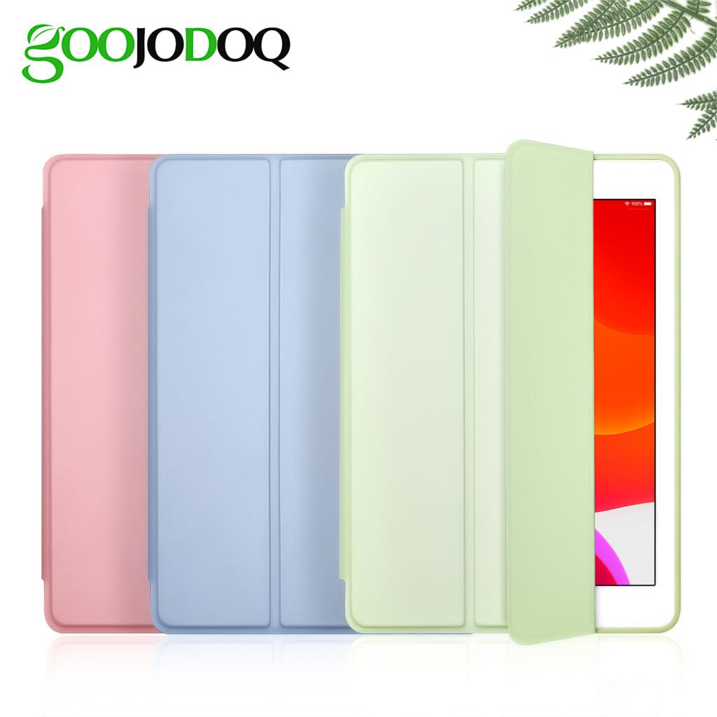 Case For IPad Air 3 10.5 2019 Case, GOOJODOQ Smart Cover Trifold Stand Soft Back Case For IPad Air 3rd Generation Pro 10.5 2017