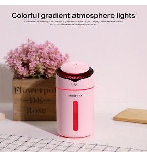 Image 2 - Hava Nemlendirici uçucu yağ Difüzörü aromaterapi nemlendirici Araba USB AROMA YAYICI Mini USB hava nemlendirici Gece Lambası Ile