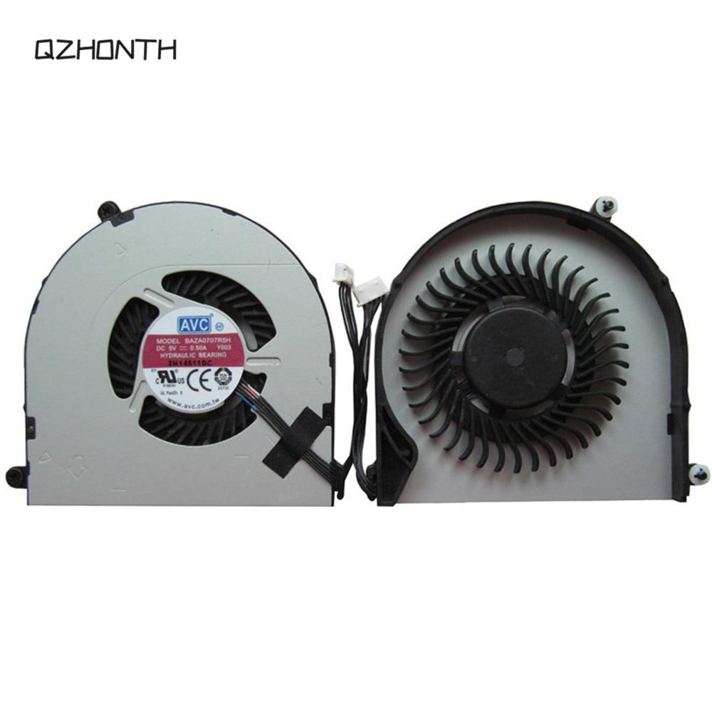 Portátil novo ventilador de refrigeração cpu para lenovo thinkpad e550 e555 e560 e565 e550c 5pin