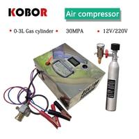 4500psi 300bar 30mpa 12v/220V Pcp Air gun Compressor Pcp Compressor Including Transformer Vehicle High Pressure Air Compressor