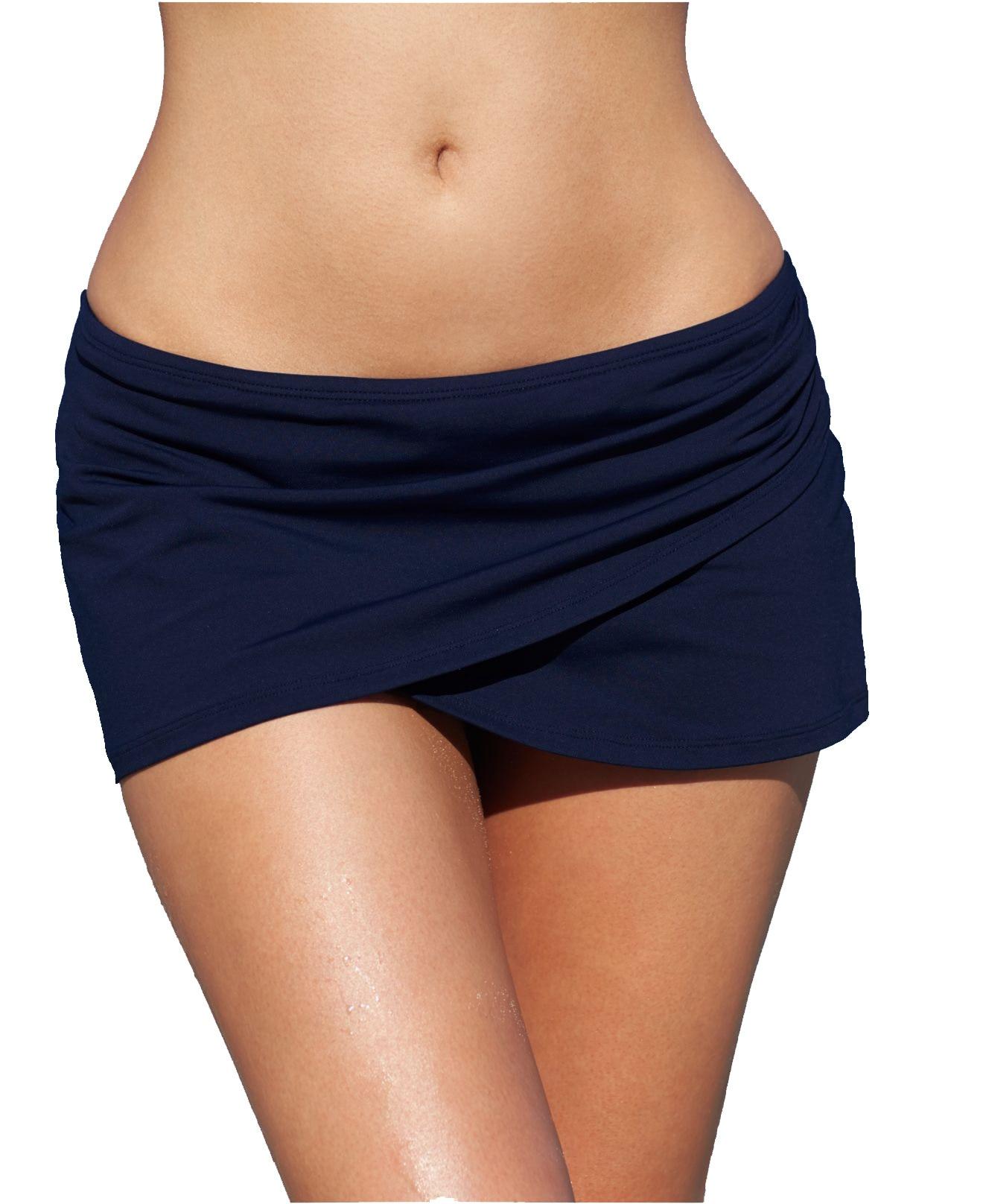 Amazon Fashion Hot Selling Swimdress Beach Skirt Lining Swimming Trunks (jiao Cha Kuan)