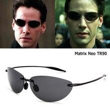 Jackjad moda matriz estilo neo tr90 ultraleve óculos de sol polarizados homem sem aro condução esportes marca óculos sol