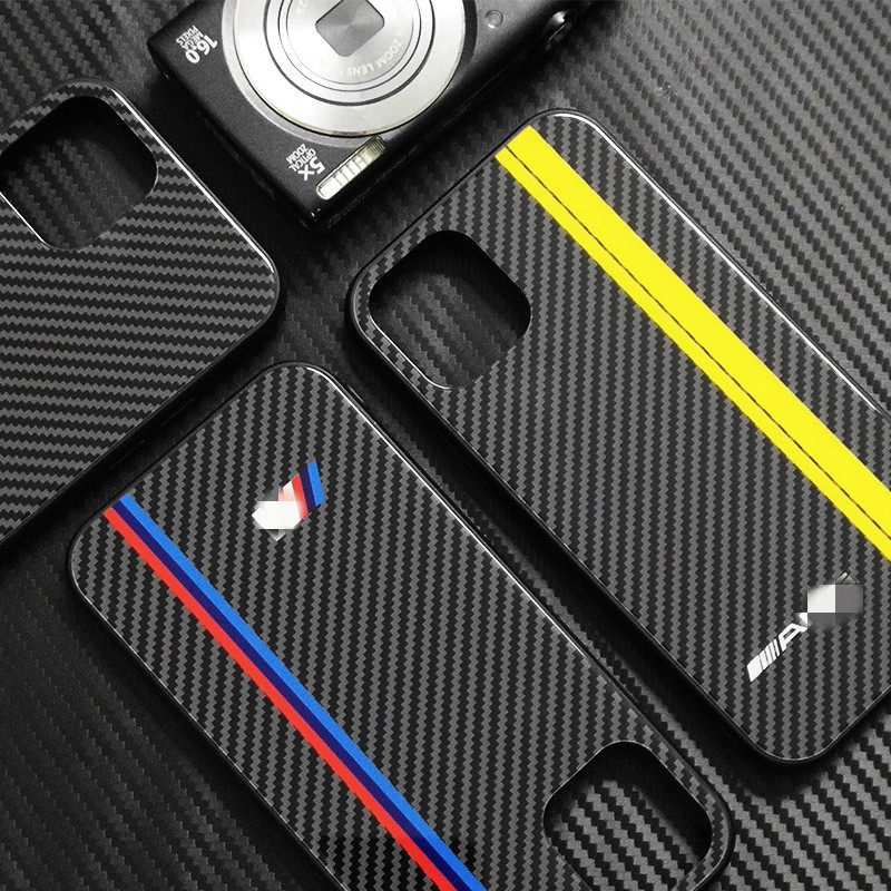 Car Style Auto Accessories For IPhone 7 6X8 S 11 Plus TPU Cover For Bmw M F30 E30 E36 E46 E90 E91 E92  GT Series Ben-z AMG GTR