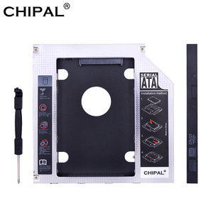 CHIPAL Universal SATA 3.0 LED 2nd HDD Caddy 9.5mm 12.7mm for 2.5