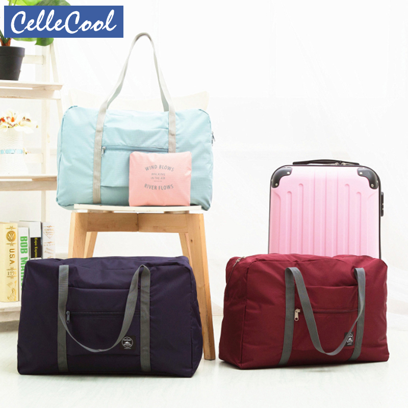 Waterproof Large Capacity Packing Cubes Travel Bag Unisex Foldable Duffle Bag Organizers Portable Luggage Bag Travel Accessories