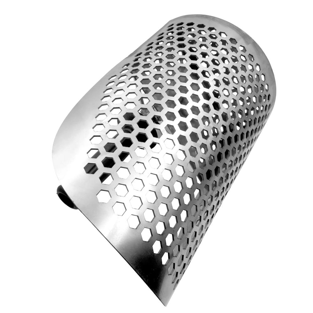 Pelle de détecteur de métaux de Scoop de sable de plage avec la poignée détecteurs de métaux d'acier inoxydable outil rapide de détection de métal de tamisage - 5