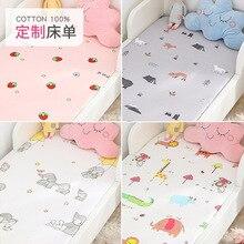 Baby Bed Mattress-Covers Bedding-Set Cot-Sheet Crib Newborn Infant Mini Kids Soft 130cm--70cm