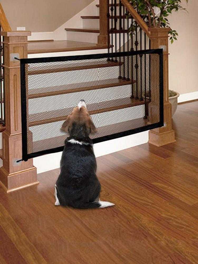 Dog Fence Safety Isolation Net Pet Door