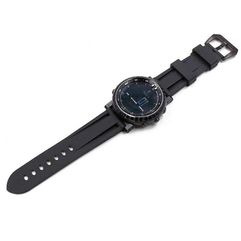 Correa de reloj de goma 22mm 24mm 26mm para hombre, correa de reloj de silicona resistente al agua para Panerai PAM utdoor, correa de reloj impermeable para deportes