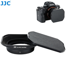 JJC Metal Square Lens Hood for Sony RX1 RX1R RX1RII & Sony Lens E 16mm f2.8 E 20mm f2.8 E 30mm f3.5 E 35mm f1.8 Replaces LHP 1