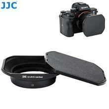 JJC מתכת כיכר עדשת הוד עבור Sony RX1 RX1R RX1RII & Sony עדשת E 16mm f2.8 E 20mm f2.8 E 30mm f3.5 E 35mm f1.8 מחליף LHP 1