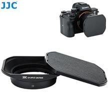 JJC parasol cuadrado de Metal para Sony RX1 RX1R RX1RII y Sony, lente E de 16mm f2.8 E 20mm f2.8 E 30mm f3.5 E 35mm f1.8 sustituye a LHP 1