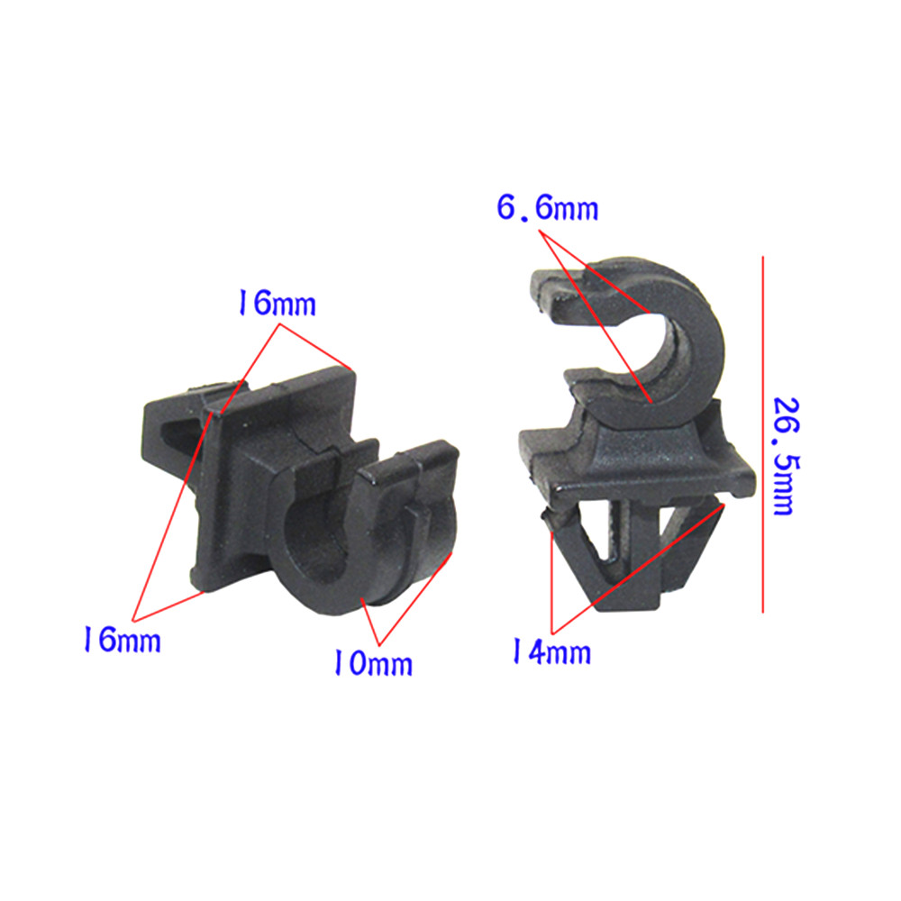 CITROEN CABLE PIPE CLAMP WIRES WIRING LOOM HARNESS CLIP HOLDER 14mm