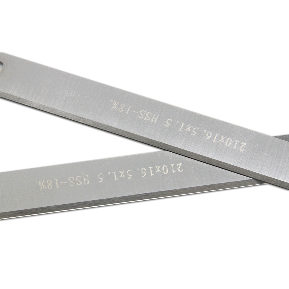 FOXBC 210mm HSS Planer Blades 210x16.5x1.5mm for ATIKA ADH 204 TYP2 8 inch Planer Knife Woodworking Tool Parts 2PCS