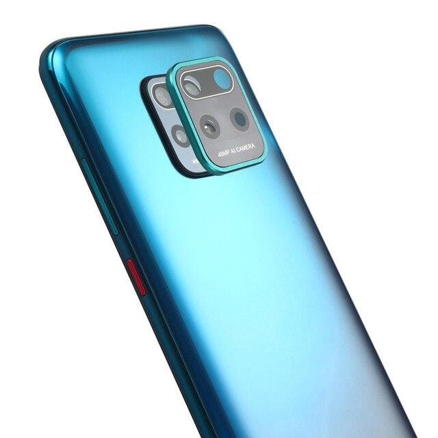 Metal Camera Lens Cover For Xiaomi Redmi Note 9s 9 Pro Max 10 pro Full Cover Protective Glass For Xiaomi Redmi 10X 5G mi 10 lite 2