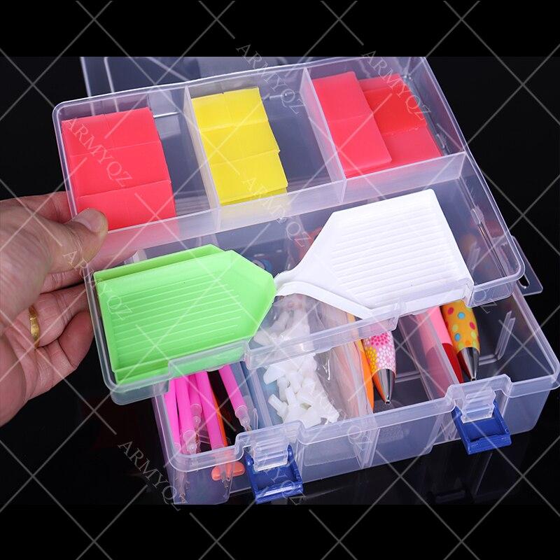Pdmdog Новый 44 шт пластиковый инструмент 5d алмазная живопись