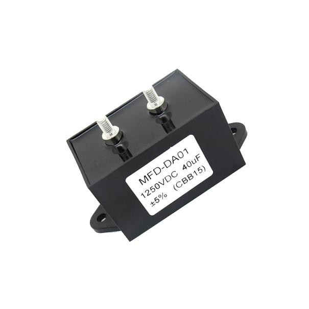 MFD-DA01 1250VDC 40uF +-5% (CBB15) Capacitor for Electric Welding Machine 40mfd MFDDA01