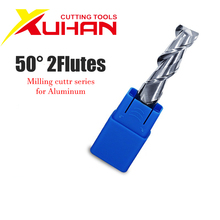 цена на 4mm HRC50 2 Flute Cutting  Aluminium wood Copper Processing CNC Router Tungsten Steel Sprial Bit Milling Cutter Carbide End Mill