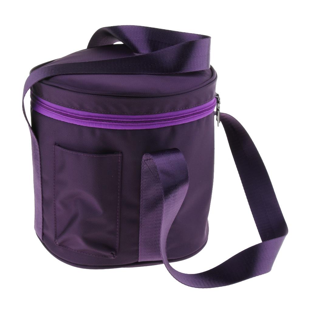 Crystal Singing Bowl Carry Case Bag Sponge Padded for Sound Bowls