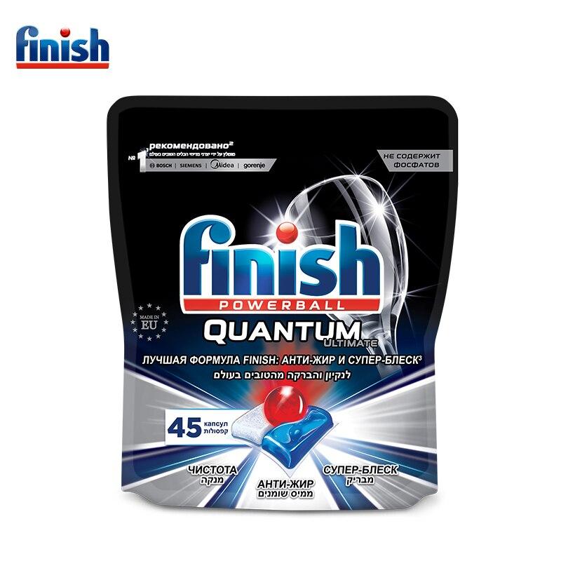 FINISH Ultimate Капсулы для посудомоечных машин 45 шт