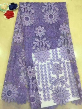Free Shipping! High Quality Guipure Lace /Nigerian Lace Fabrics/Water Soluble African Lace Fabric For Wedding D180 фото