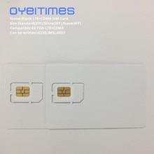 Oyeitime пустой LTE+ CDMA сим-карта s 4G FDD LTE+ CDMA сим-карта программируемая LTE+ CDMA сим-карта Mini, Micro и Nano пустая sim-карта