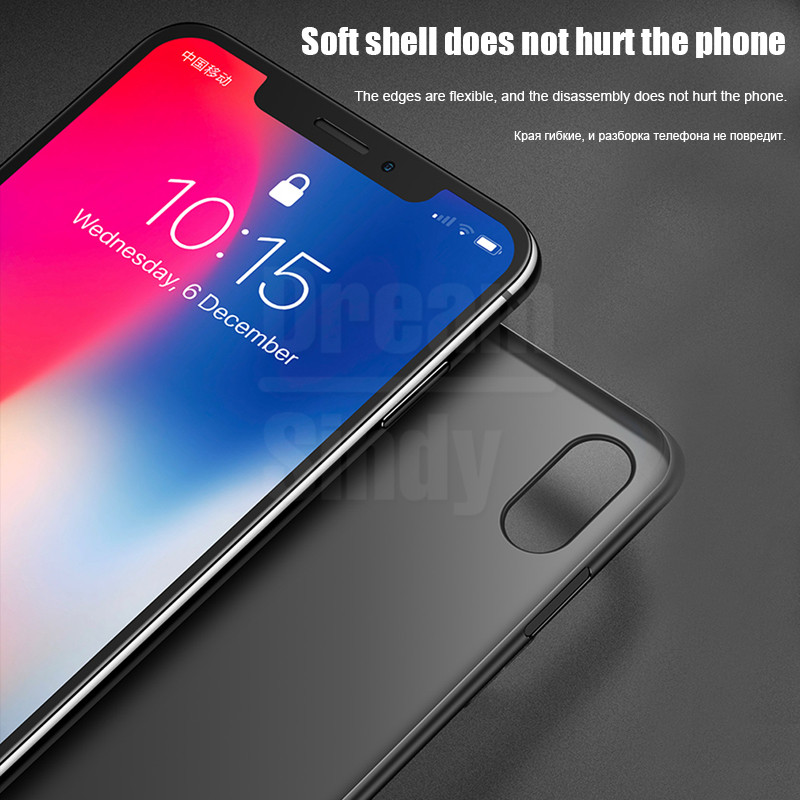 Image 5 - 0.26mm Ultra Thin Original PP Case On The For iphone X XR XS Max Full Cover For iphone 6 6s 7 8 PLus Matte Shockproof Slim Case-in Fitted Cases from Cellphones & Telecommunications
