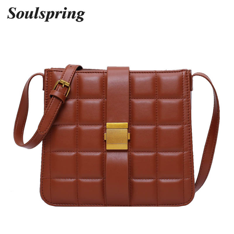 Crossbody Bags For Women Ladies Hand Bags Sequined Shoulder Bags Solid Famous Designer Handbags Leather Flap Bags For Women 2019