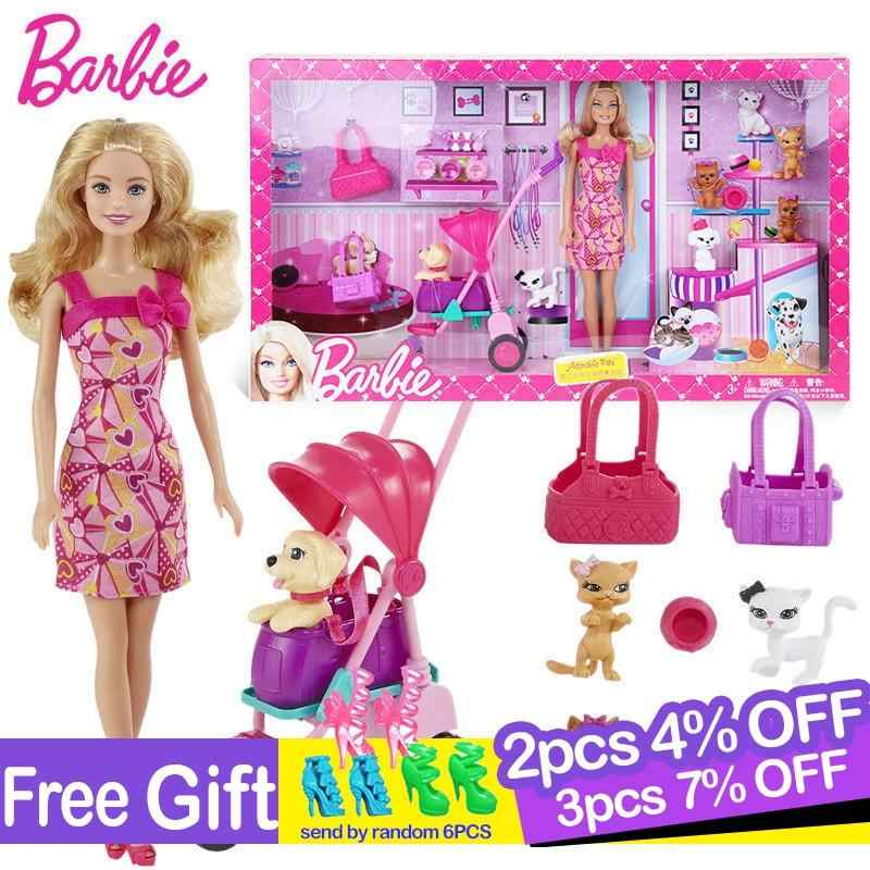 Original Barbie Doll Toys Princess Designer Fashion Princess Combo Girl Creative Desi Clothes Dress For Baby Girls Y7503 Aliexpress