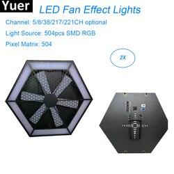 LED 504pc RGB 3in1 wentylator efekt etap światła 200W DMX512 DJ oświetlenie imprezowe LED maszyna oświetlenie sceniczne efekt Disco lampa darmowa wysyłka|Oświetlenie sceniczne|Lampy i oświetlenie -