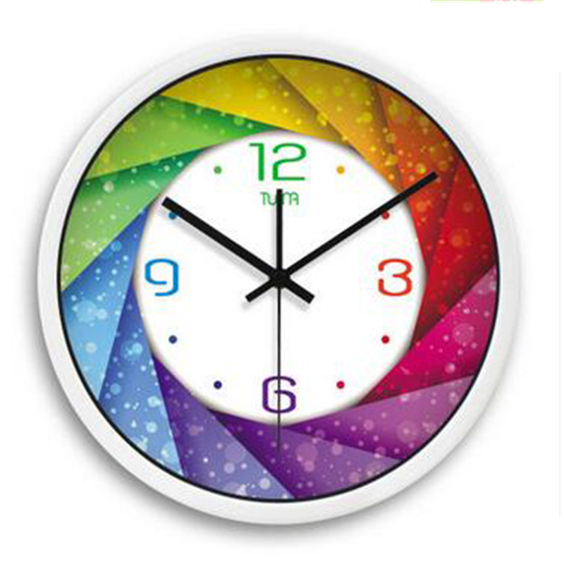 Decorative Silent Large Wall Clock Movement Living Room Modern Design Relogio De Parede Beautiful Wall Clock Home Decor WKP430