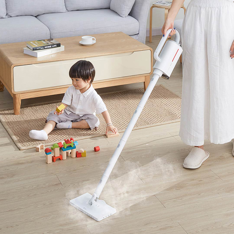 Image 2 - 2019 XIAOMI MIJIA Deerma DEM ZQ600 Electric Steam Cleaners Mopping Handheld Floor Vacuum Window Washers Vacuum Multi functional-in Vacuum Cleaners from Home Appliances