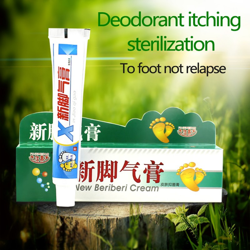 25g New Foot Care Cream Antibacterial Anti Itch Sweat Odor Feet Anti-fungi Cream Foot Cream To Remove Flavor Of Foot