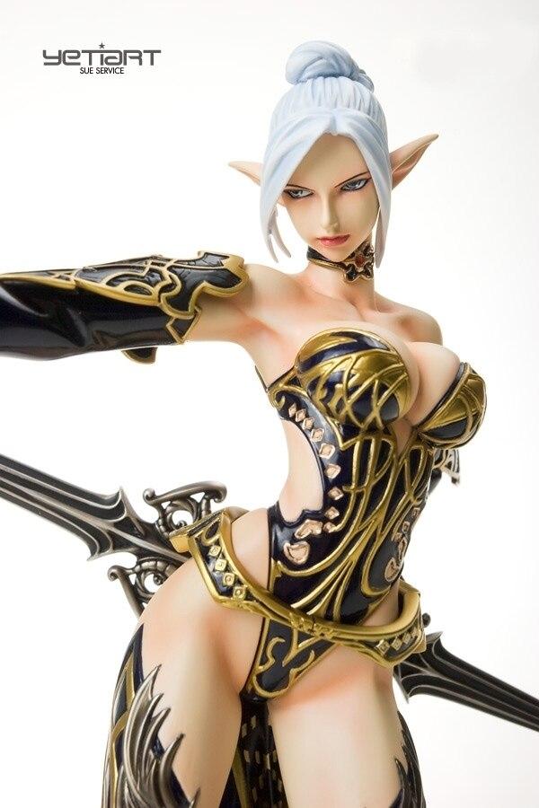 Каучуковая фигурка комплект 1/6 Lineage II Dark Elf женский Неокрашенный гараж Смола модель комплект|Игровые фигурки и трансформеры|   | АлиЭкспресс