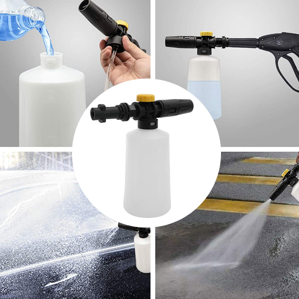 Better Snow Foam Lance For Karcher K2 - K7 High Pressure Foam Gun Cannon All Plastic Portable Foamer Nozzle Car Washer Soap Sprayer