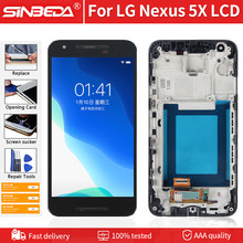 "5.2 ""Schermo LCD originale Per LG Nexus 5X H790 H791 H798 LCD Display Touch Screen Con Cornice Digitizer Assembly per Nexus 5X LCD(China)"
