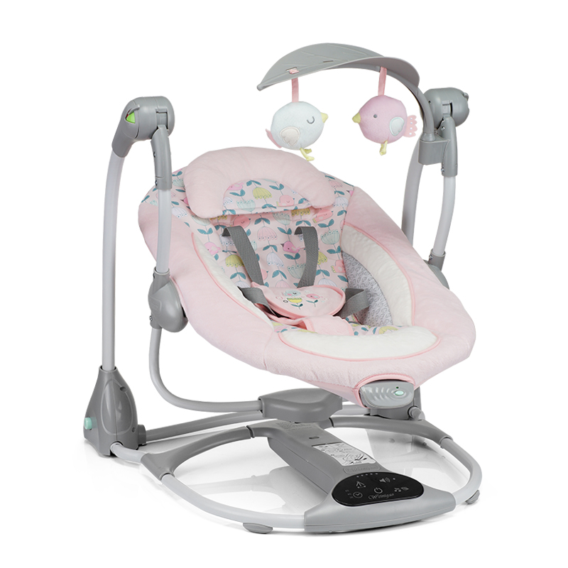 Baby Electric Rocking Chair Swing Coaxing Sleeping Artifact BB Cradle Bed Appease Recliner Increase