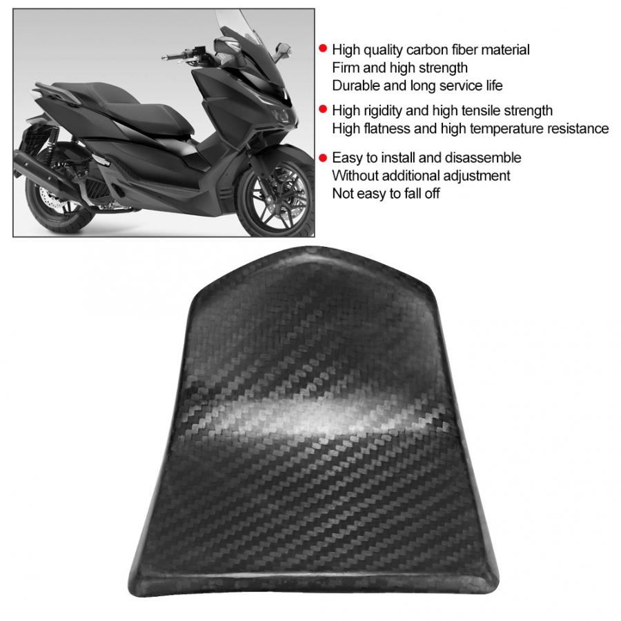 Motorcycle Fuel Tank Cap Gas Oil Box Trim Cover Sticker for Honda forza 300 NSS300 Carbon Fiber