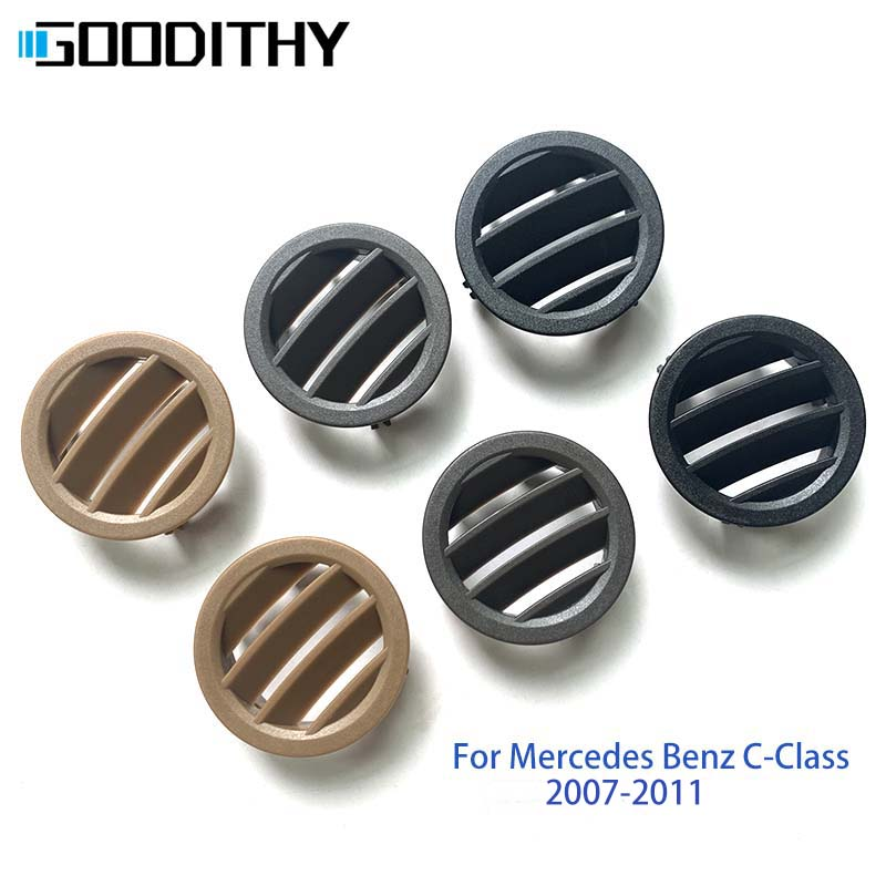 LHD RHD <font><b>W204</b></font> Car Console Air Conditioner Vent <font><b>Grille</b></font> Panel Cover For Mercedes <font><b>Benz</b></font> C-Class 2007-2011 C180 200 220 230 260 280 image