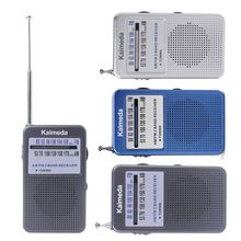 Portable AM FM Radio Wireless Pocket Radio Receiver Supporting Stereo Mode Loudly with Strap