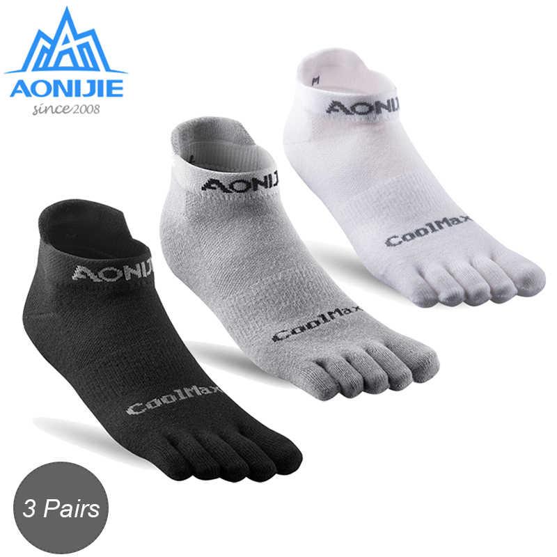 AONIJIE 3 Pairs Lightweight Low Cut