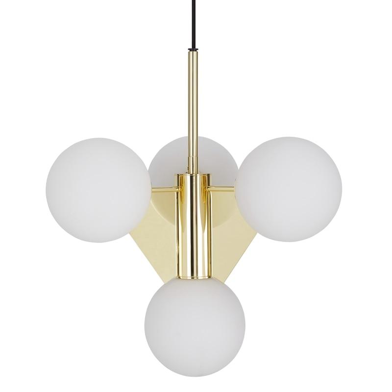 LukLoy Modern Short Chandelier Ceiling Pendant Light Cord Pendant Lamp For Living Room Bedroom Study Dining Table