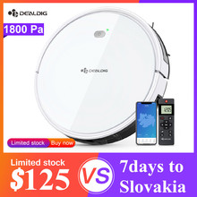 DEALDIG Robvacuum 8 Robot Vacuum Cleaner with WiFi Connectivity Work for Alexa App Remote Control Gyroscope Navigation Robot