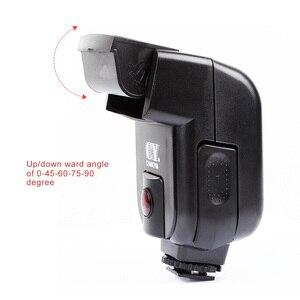 Image 4 - Speedlite Mini cámara Universal con gatillo infrarrojo para Canon, Nikon, Olympus, Sony, Fuji, EOS, M50, A7III, A6500, NEX 7, GH4, X T20